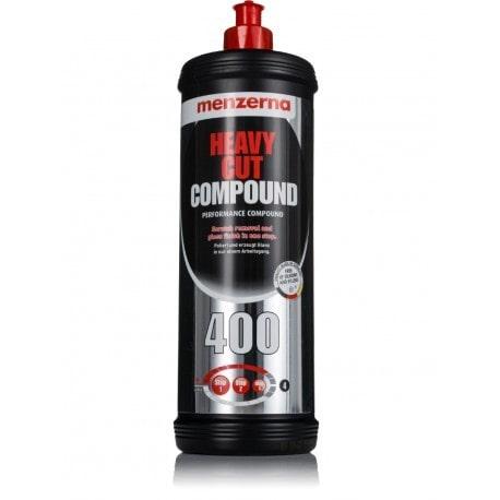 menzerna400 car polishing compound 1l bottle white background
