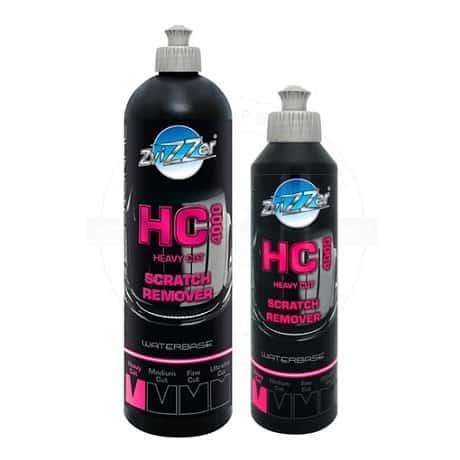 zvizzer heavy cut compound 250ml bottle white background