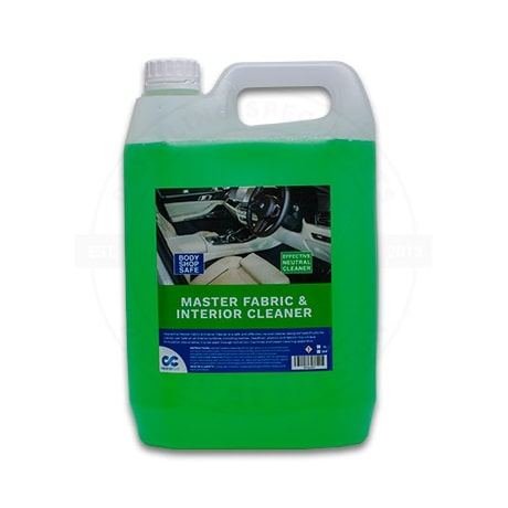 cleanercar master fabric and interior cleaner 5l bottle