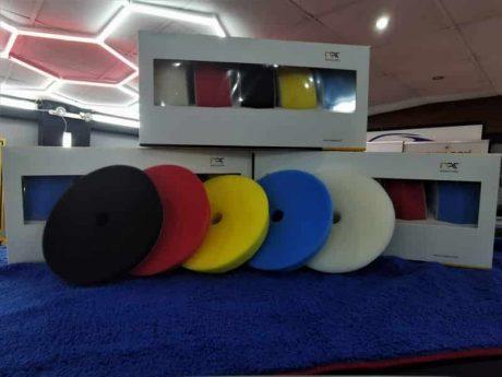 polishing pads studio box